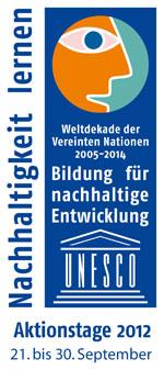 UNESCO Bildung für nachhaltige Entwicklung, Aktionstage 2012